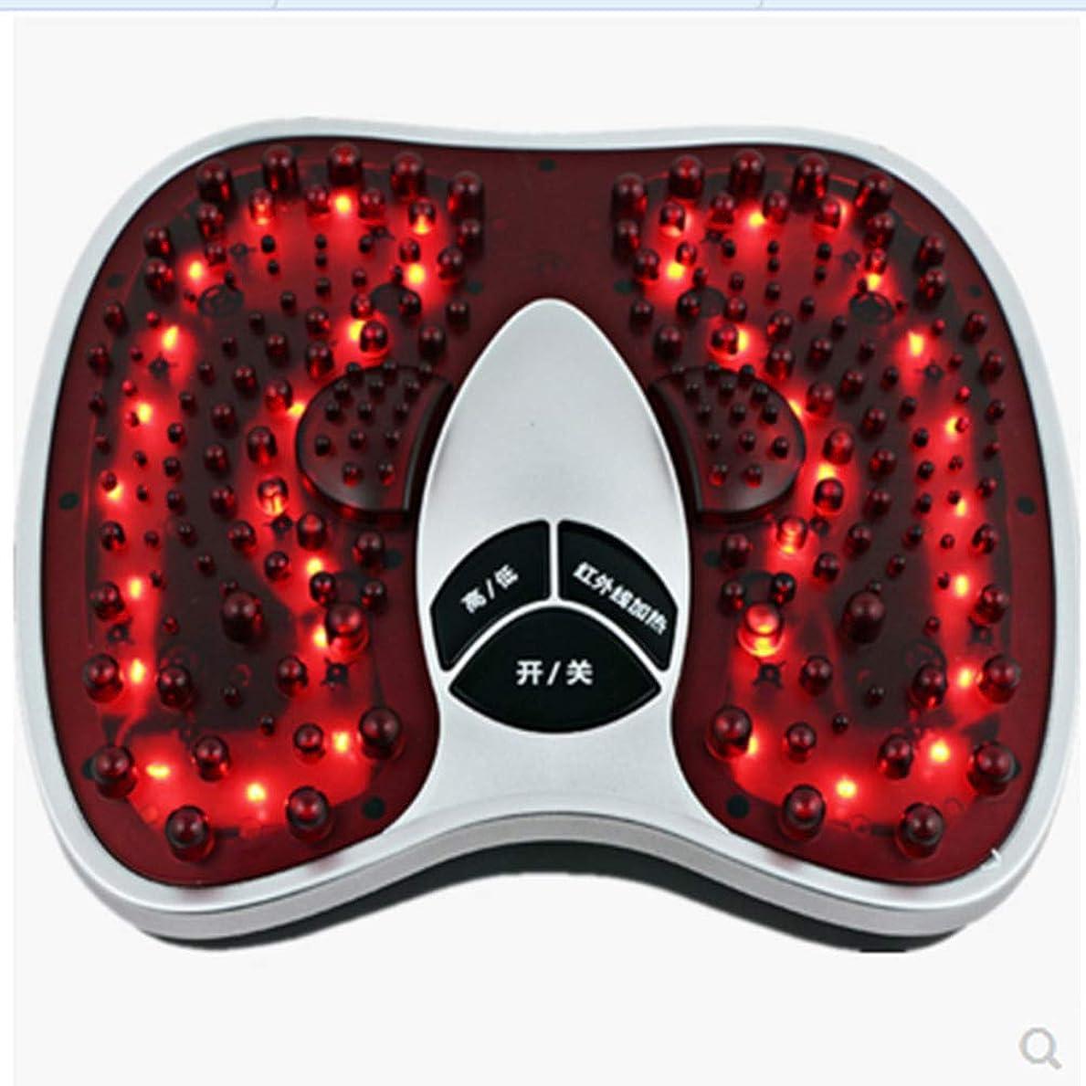 戸惑う謝るかかわらず電気の フットマッサージ(熱を含む)、フルマッサージを体験する202マッサージヘッド、硬い筋肉を柔らかくする、循環を改善する、痛みを軽減する治療 人間工学的デザイン, red