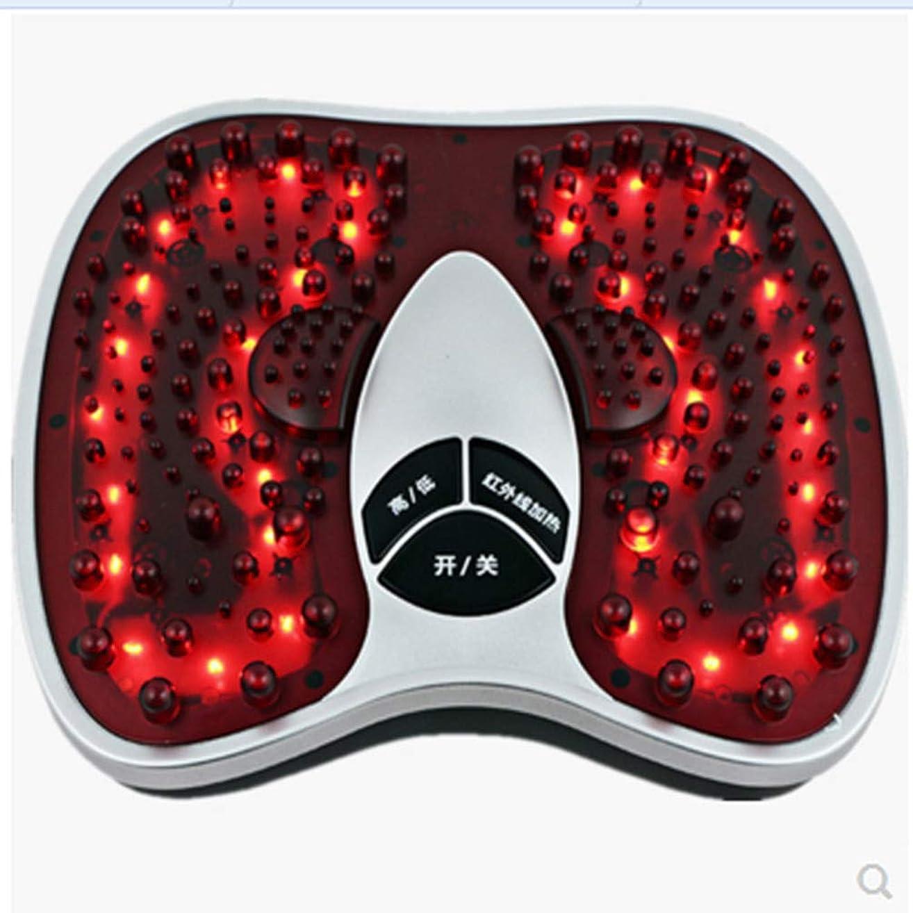 セラフノイズ文房具フットマッサージ(熱を含む)、フルマッサージを体験する202マッサージヘッド、硬い筋肉を柔らかくする、循環を改善する、痛みを軽減する治療, red