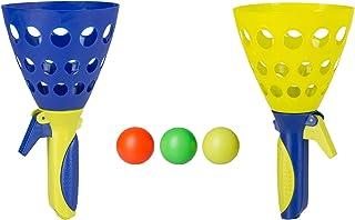 Idena 40006 Fangballspiel XXL mit 2 Fangbechern, inklusive 3