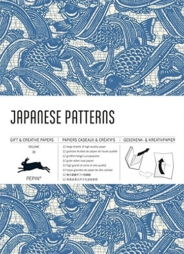Japanese Patterns: Gift & Creative Paper Book Vol.40 (Multilingual Edition)