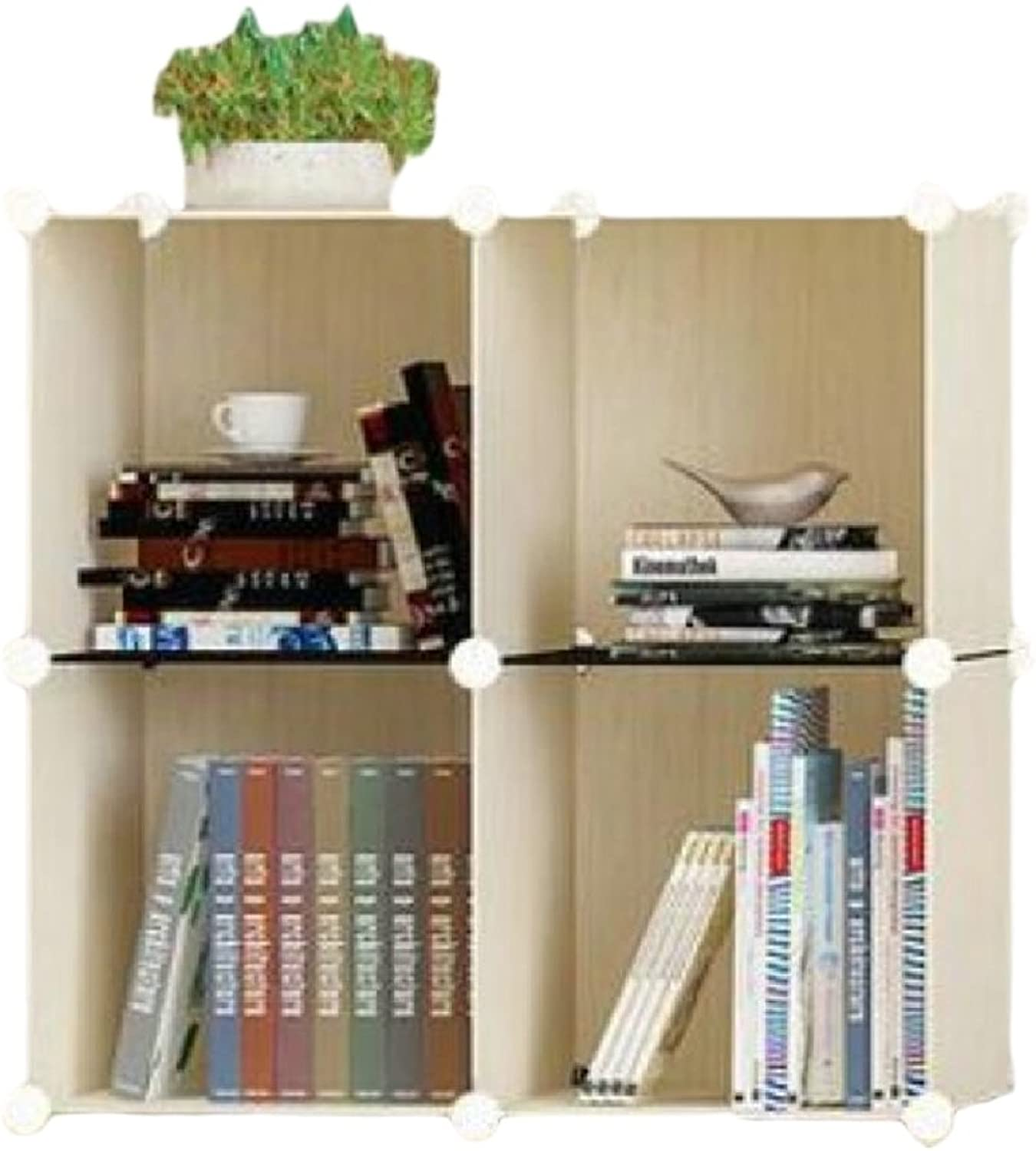 Coolred Shelving Unit Espresso Folding Dressy Casters Collapsable Wheels Kitchen Cabinet AS3 4 Shelves