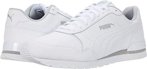 Puma White/Puma White/Gray Violet