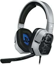 PDP PS4 LVL 3 Stereo Gaming Headset 051-032-NA-YCAM, Grey Camo