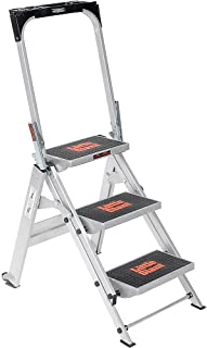 Little Giant Safety Step Ladder - Three Steps - 22X34-1/2 X43