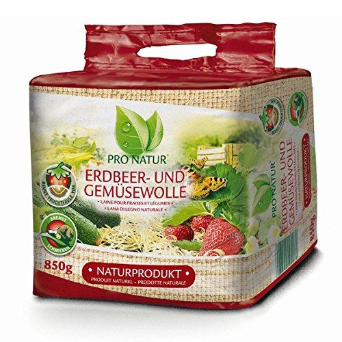 Pro Natur Erdbeer- und Gemüsewolle Anti Fruchtschimmel 850 g