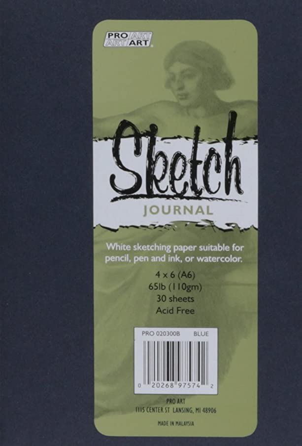 Pro-Art 033020302 Softcover Sketch Journal, 4
