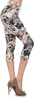 Capri REG/Plus Fashion Print Leggings Capri BAT1