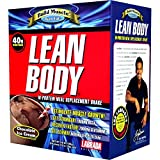 Labrada Lean Body Hi-Protein Meal Replacement Shake Chocolate Ice Cream - 20 Packets