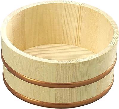 山下工芸(Yamashita kogei) 湯おけ ナチュラル 約φ22.5×H10cm 日本製 湯桶 大 522503