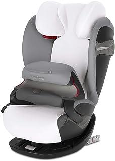 Cybex - Funda de verano, para silla de coche para niños Pallas 2-Fix S-Fix & Solution S-Fix, blanco