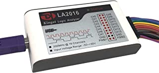 Inno-Maker LA2016 USB Logic Analyzer Full 16 Channels 200MHz Sampling Rate with The English PC Software Handheld Instrument, Support Windows (32bit/64bit),Mac OS,Linux
