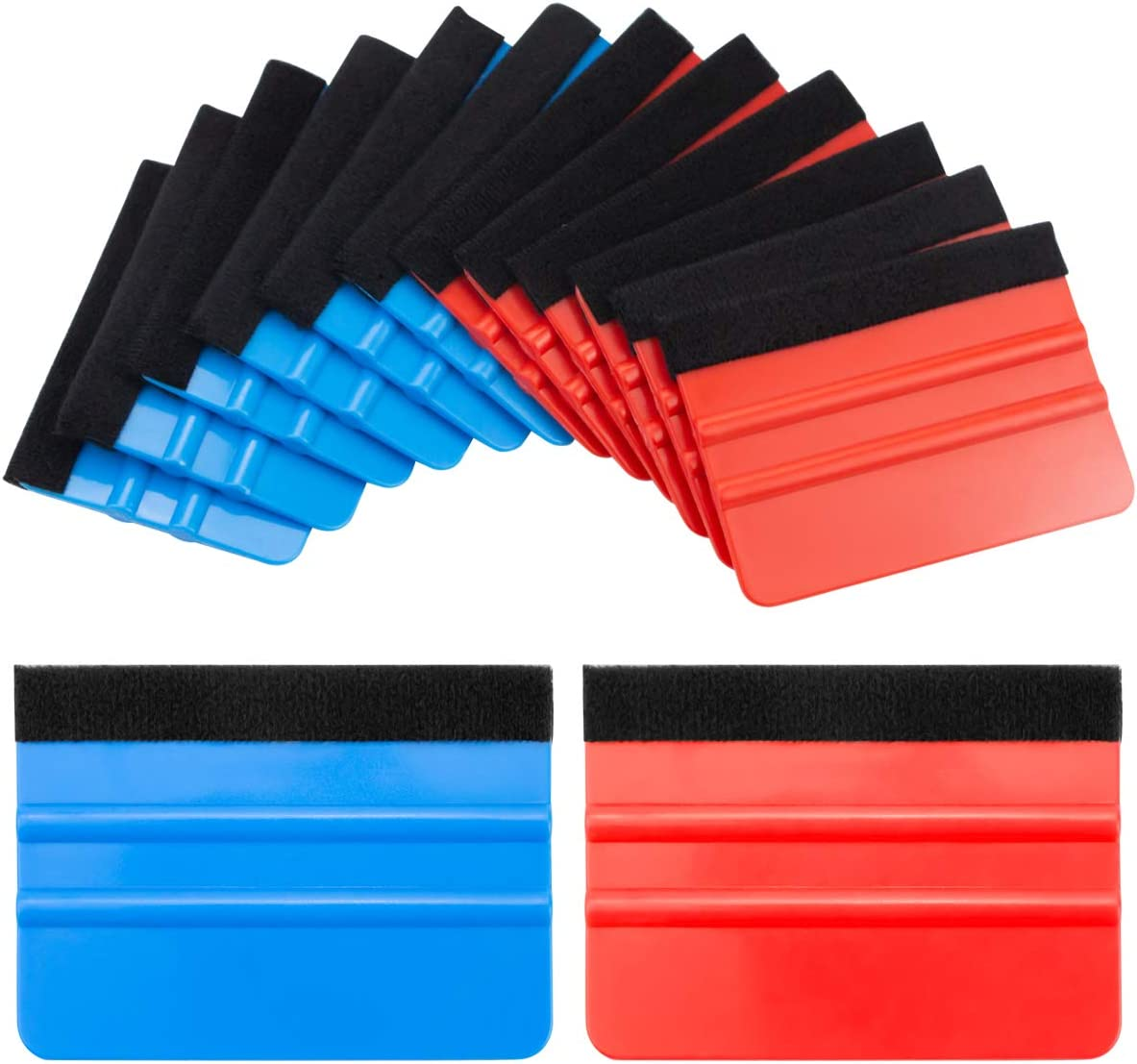 Hslife 12 Pcs Felt Max 41% OFF Edge Kits Squeegee Portland Mall Ap Tool Wrapping