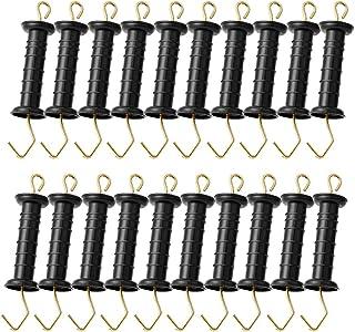 Black Lenink 2Pcs Electric Fence Gate Handle