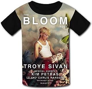 QIANBAIHUI Kids Youth Troyer-Sivan 3D Printed Short Sleeve T-Shirt Tees