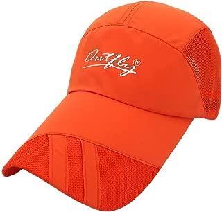 Hats Outdoor Sports UV Protection Mountaineering Cap Lengthen Along The Sun Protection Cap Fashion (Color : Orange)