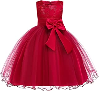Balalei Summer Dress for Children Flower Girls Dress Party Wedding Dress Elegant Princess Vestidos,As Pic,6