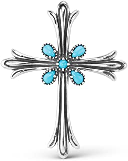 native american turquoise cross