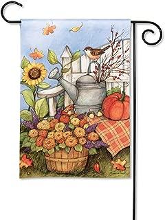 BreezeArt Studio M Loving Fall Decorative Garden Flag - Premium Quality, 12.5 x 18 Inches