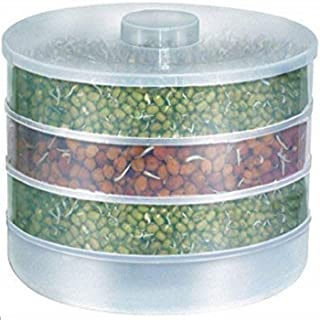 Goods Online Sprout Maker   Hygienic Sprout Maker with 4 Container   Organic Home Making Fresh Sprouts Beans for Living He...