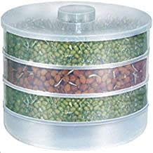 AMPLE EMPORIUM Sprout Maker - Hygienic Sprout Maker with 3 Container