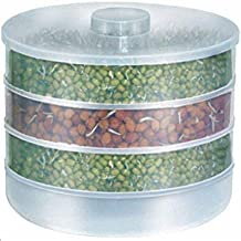 Ample Sprout Maker - Hygienic Sprout Maker with 3 Container