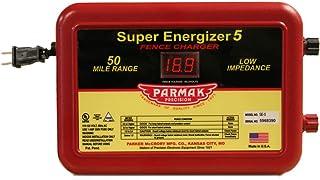 Parmak Super Energizer 5 Low Impedance 110/120 Volt 50 Mile Range Electric Fence Controller SE5