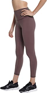 Stretchy High Waist Workout Yoga Pants for Women Flexible Slim Fit Solid Color
