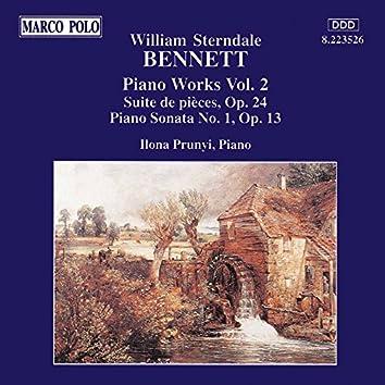 Bennett: Suite De Pieces, Op. 24 / Piano Sonata No. 1, Op. 13