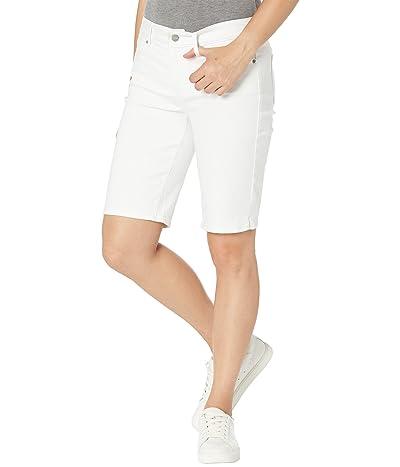 NYDJ Briella Shorts in Optic White