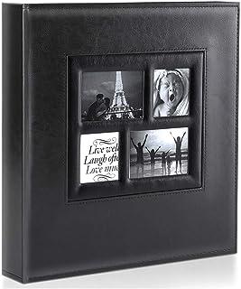 Ywlake Album Photo 800 Pochettes 10x15cm Photos Grand Format Famille Mariage Classique Couverture en Cuir (80 Feuilles, 16...
