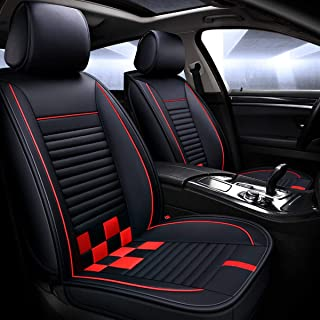Best leather seat covers red Reviews