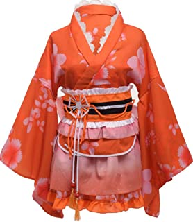Love Live Nishikino Maki Honoka Honoka Eli Japanese Sonoda Umi Womens Kimono Costume