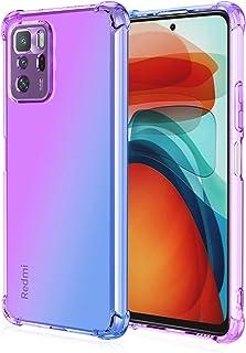 EasyLifeGo for Xiaomi Poco X3 GT/Redmi Note 10 Pro 5G Case Slim Shock Absorption Flexible TPU Soft Edge Bumper with Reinfo...