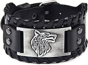 viking leather wristbands