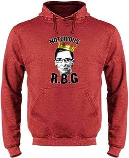 Notorious R.B.G. RBG Supreme Court Political Sweatshirt Hoodies for Men