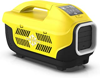 Zero Breeze Z19-Y Portable Air Conditioner for Camping, 5-in-1 Multi Functions, Suitable for 1-4 Person Tent, RV, Van, Truck and Outdoors, Without Battery (Yellow)