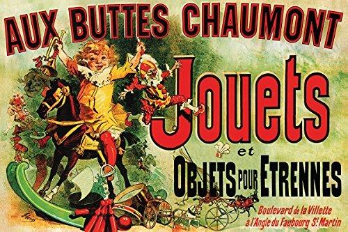 Buyartforless Jouets - Vintage Ad (As Seen on Friends) 36x24 Art Poster Print Vintage Advertising 19th Century