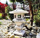 Decoración de Adornos de jardín - Pagoda de Piedra de Estilo japonés/Linterna Dabotap