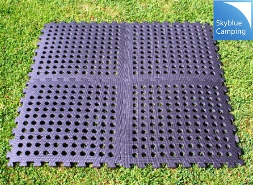 Kampa Easylock Flooring Tiles / Multi-purpose Carpet Tiles