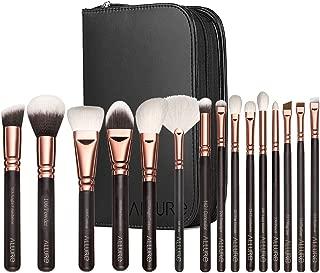 Allure Professional Makeup Brushes Kit (Set Of 15) - Rose Gold, 375 g