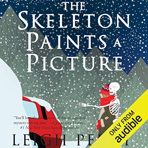 The Skeleton Paints a Picture audiobook cover art