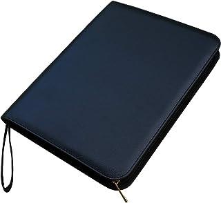 Large Capacity Fountain Pen Case PU Leather Black Color 48 Slots pen pouch bag