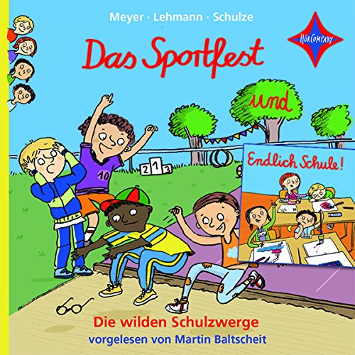 Das Sportfest und Endlich Schule!     Die wilden Schulzwerge 1& 2              By:                                                                                                                                 Meyer / Lehmann / Schulze                               Narrated by:                                                                                                                                 Martin Baltscheit                      Length: 41 mins     Not rated yet     Overall 0.0
