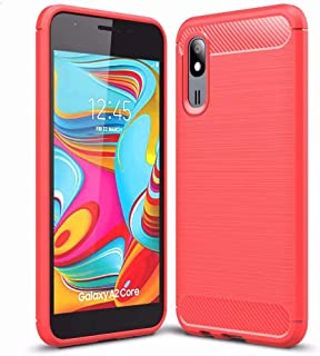 FanTing Case for LG Q92 5G, Anti-Slip Ultra Thin Shock Absorption Anti Scratch Protective, Cover for LG Q92 5G -Red