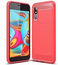 FanTing Case for Asus Zenfone Max (M1) ZB555KL, Anti-Slip Ultra Thin Shock Absorption Anti Scratch Protective, Cover for Asus Zenfone Max (M1) ZB555KL -Red