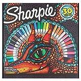 Sharpie - Rotuladores permanentes (30 unidades), varios colores.