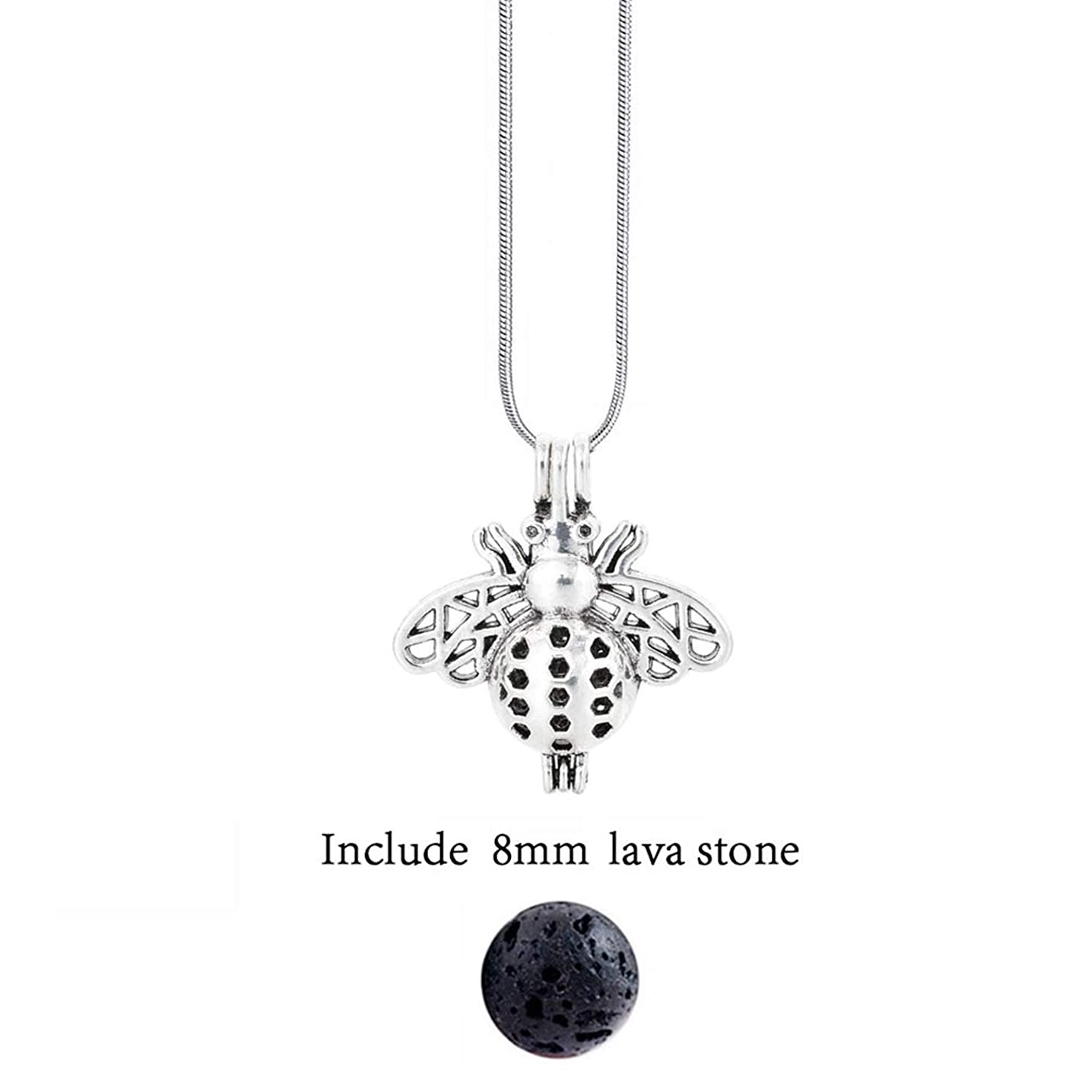 Disinfom Diversified Felt Glow Balls Lava Stone Aromatherapy Antique Vintage Necklaces Locket Perfume Essential Oil Diffuser Necklace