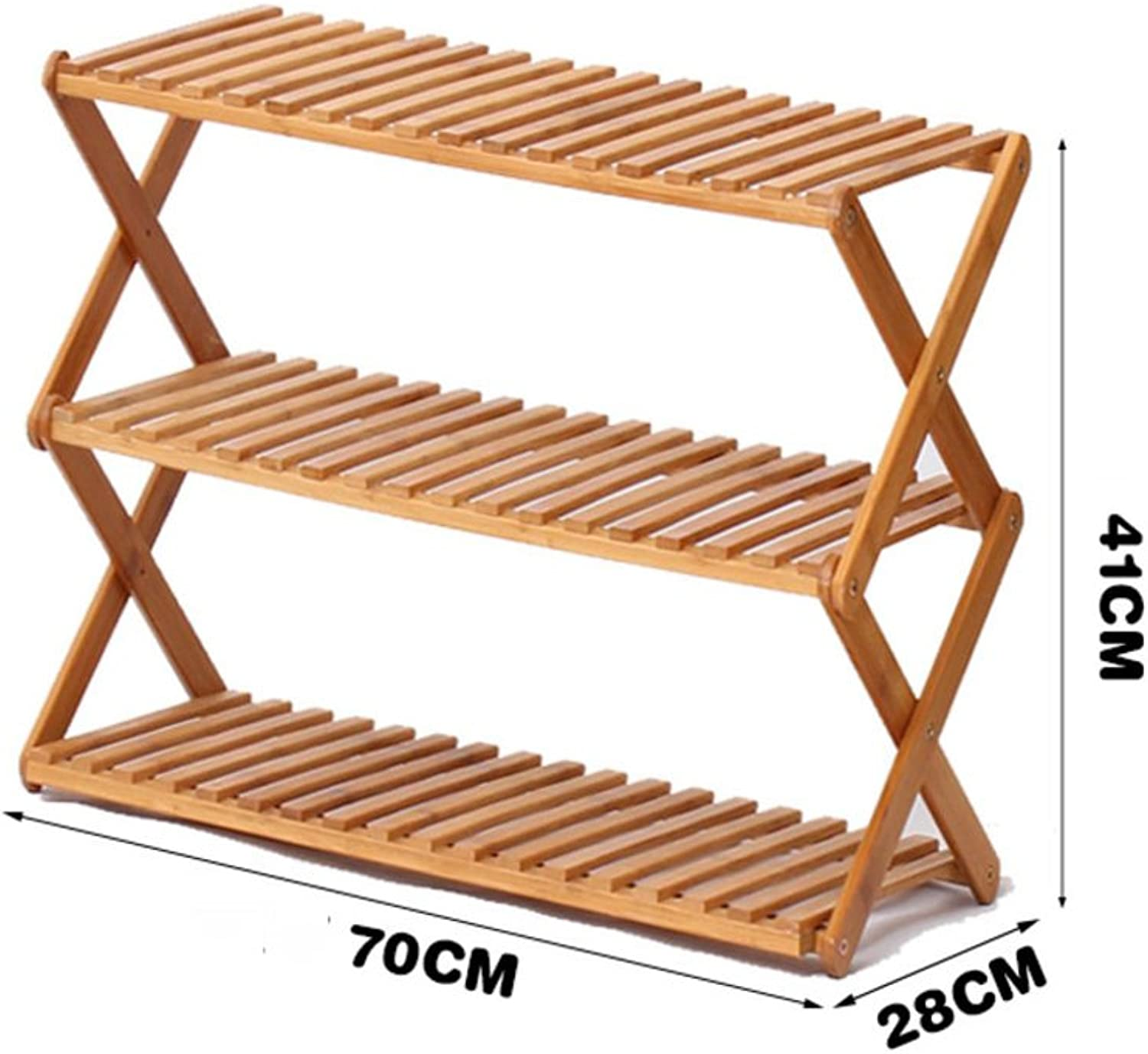 shoes Rack Free Inssizetion Folding shoes Rack Simple Solid Wood Multi-Layer shoes Cabinet Multifunction dust-Proof Economic Type Dorm Room Household,D