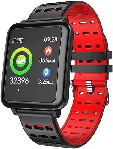 Montre intelligente, écran couleur de 1,3 pouces avec moniteur de fréquence voiturediaque, moniteur de sommeil, bracelet de remise en forme de podomètre étanche Ip67 pour Android 5.0 et hommes et femm
