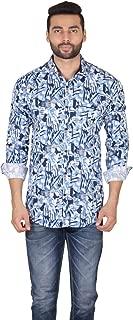 Lionary Mens Full Sleeve Cotton Shirt-